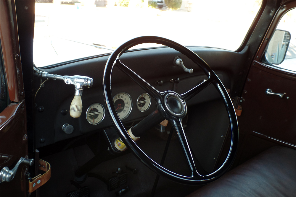 1936 CHEVROLET PICKUP - Interior - 189769