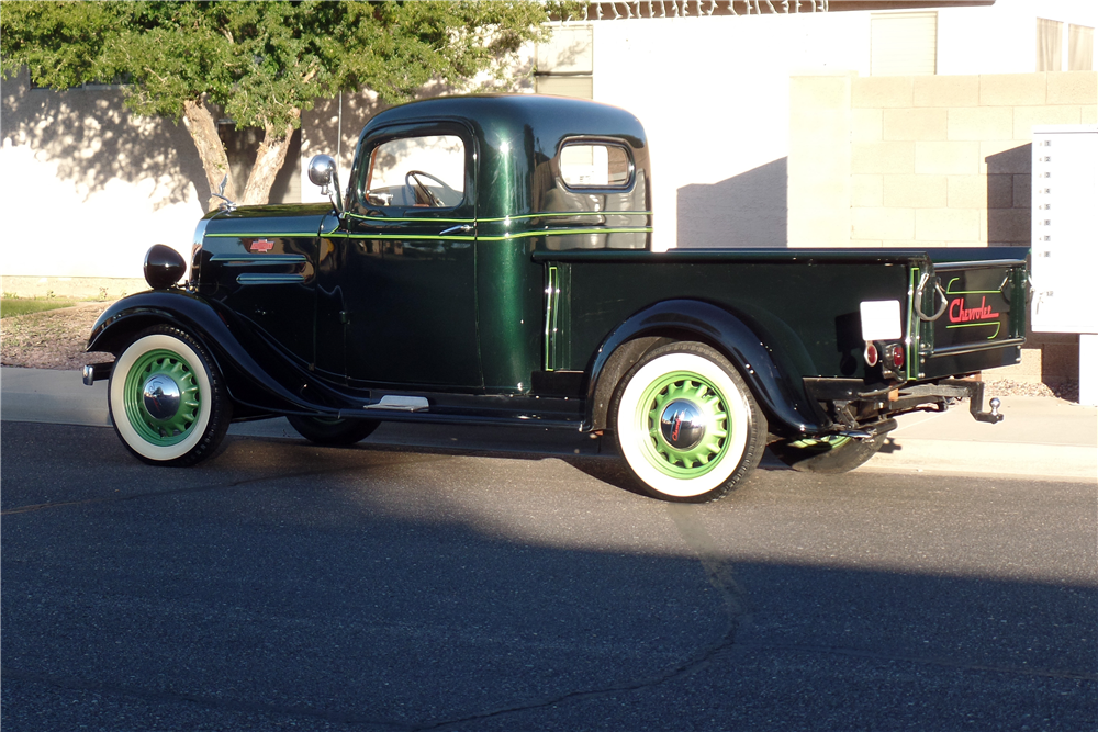1936 CHEVROLET PICKUP - Rear 3/4 - 189769