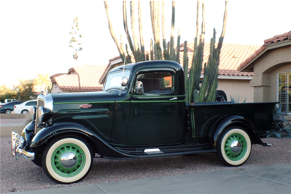 1936 CHEVROLET PICKUP - Side Profile - 189769