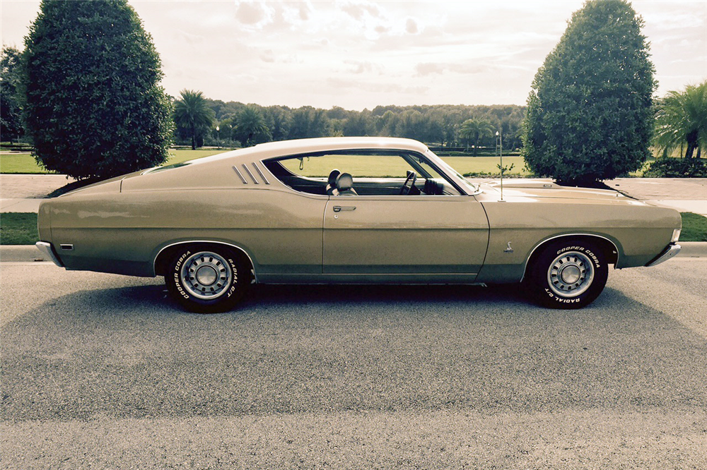 1969 FORD TORINO  - Side Profile - 189782