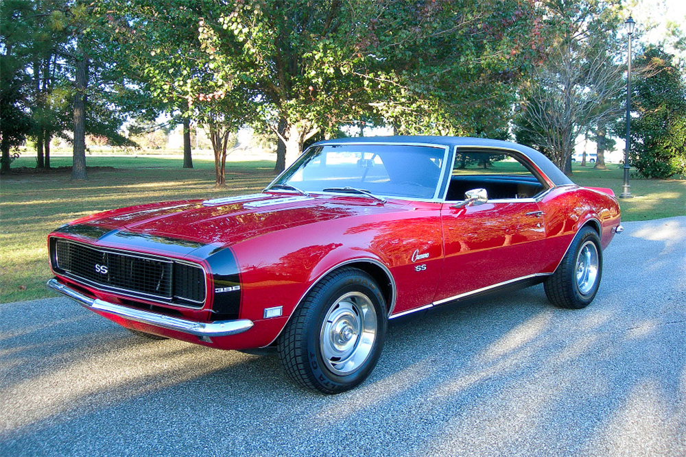 1968 CHEVROLET CAMARO RS/SS  - Front 3/4 - 189783