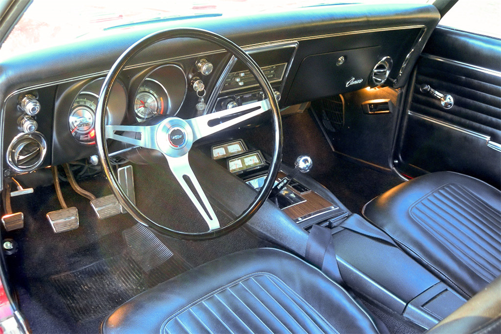 1968 CHEVROLET CAMARO RS/SS  - Interior - 189783