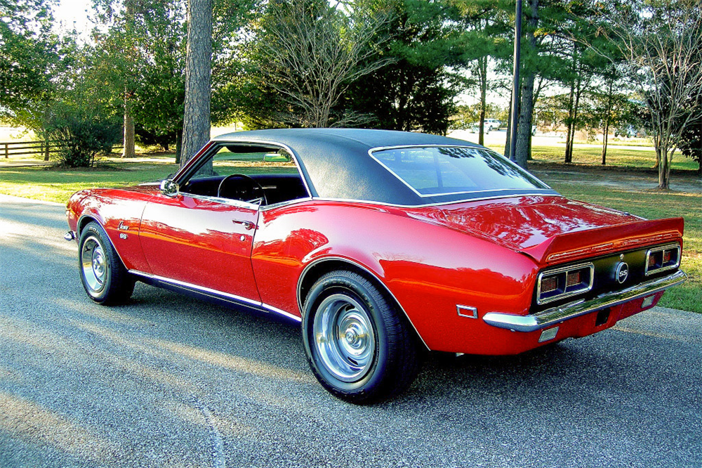 1968 CHEVROLET CAMARO RS/SS  - Rear 3/4 - 189783