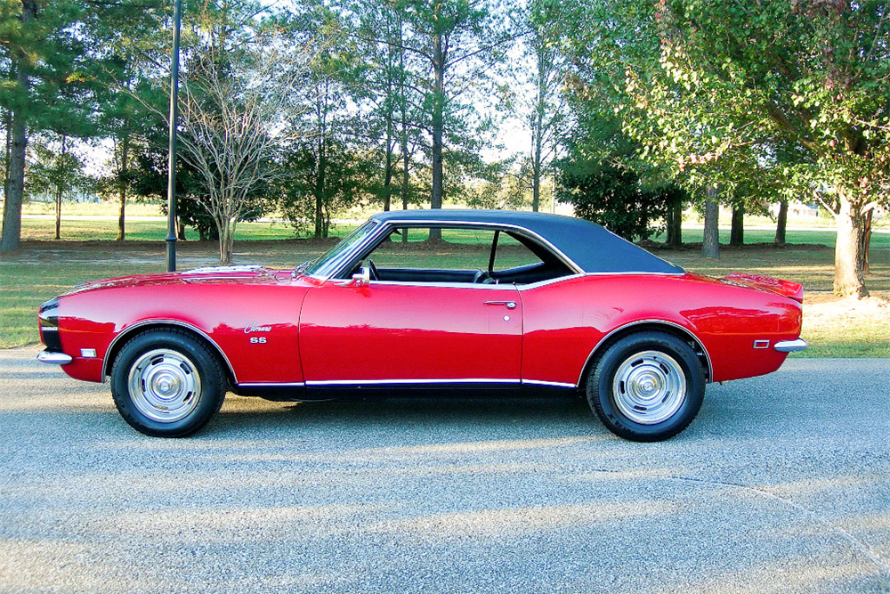 1968 CHEVROLET CAMARO RS/SS  - Side Profile - 189783