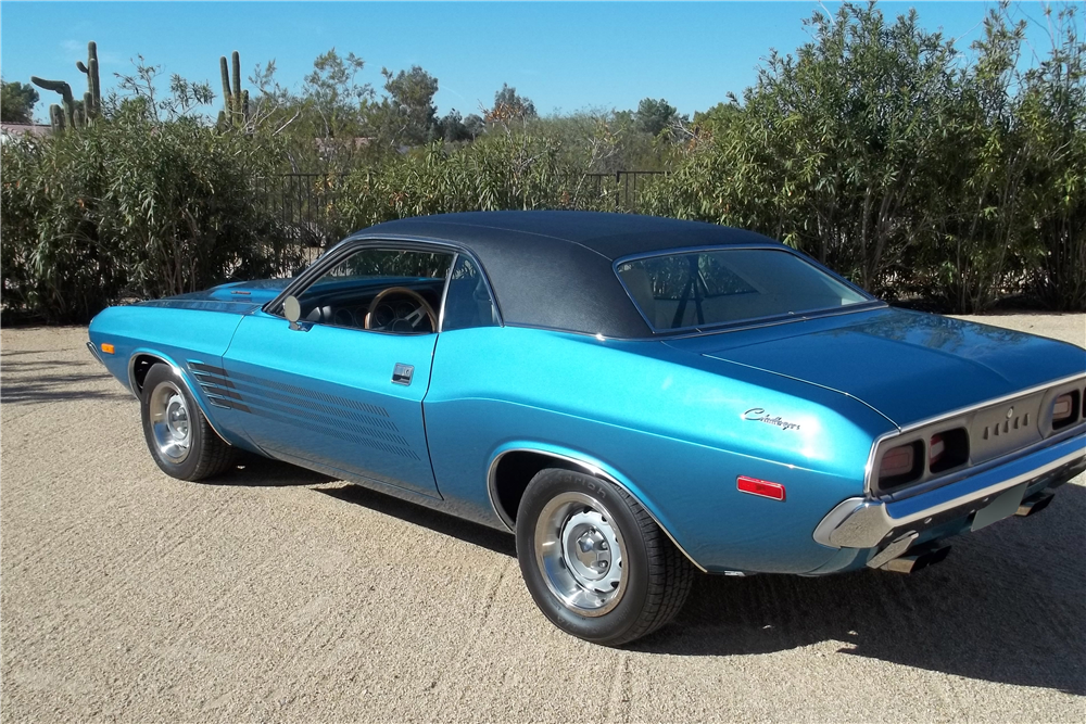 1974 DODGE CHALLENGER - Rear 3/4 - 189789