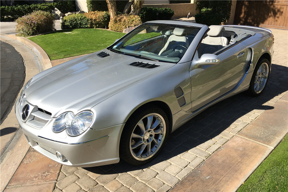 2003 MERCEDES-BENZ SL55 CONVERTIBLE - Front 3/4 - 189796
