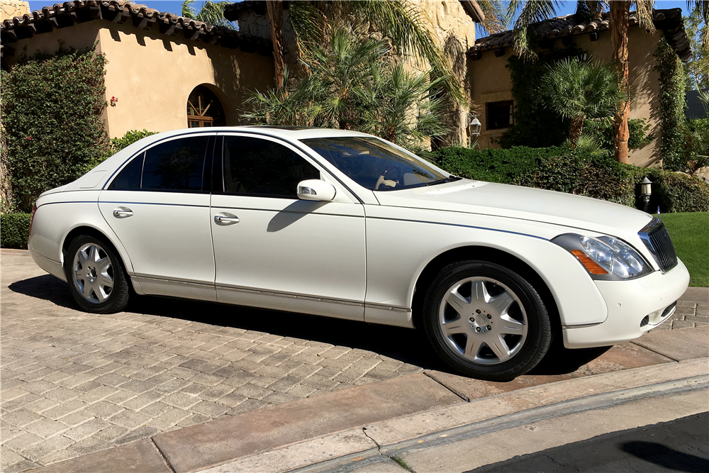 2004 MAYBACH 57 4-DOOR SEDAN - Side Profile - 189797