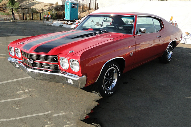 1970 CHEVROLET CHEVELLE CUSTOM COUPE - Front 3/4 - 189798