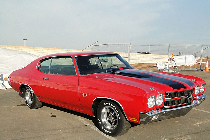 1970 CHEVROLET CHEVELLE CUSTOM COUPE - Side Profile - 189798