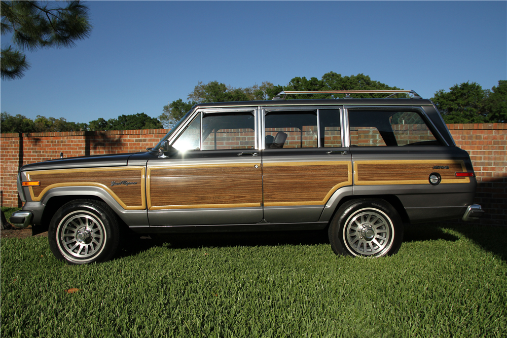 1989 Jeep Grand Wagoneer Suv 189809
