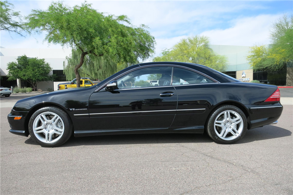 2003 MERCEDES-BENZ CL55 AMG  - Side Profile - 189811