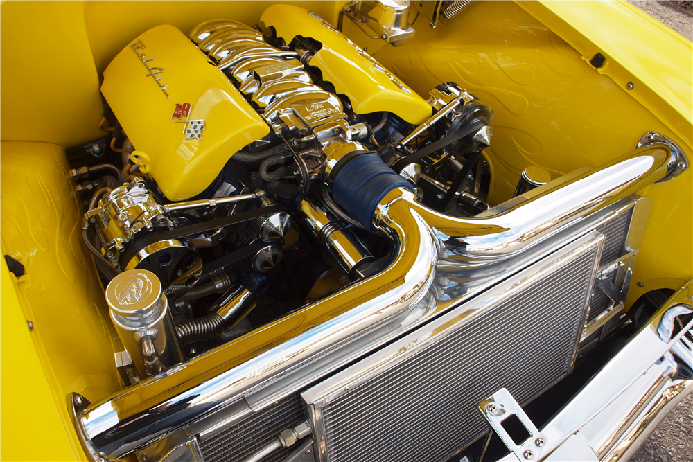 1957 CHEVROLET BEL AIR CONVERTIBLE - Engine - 189830