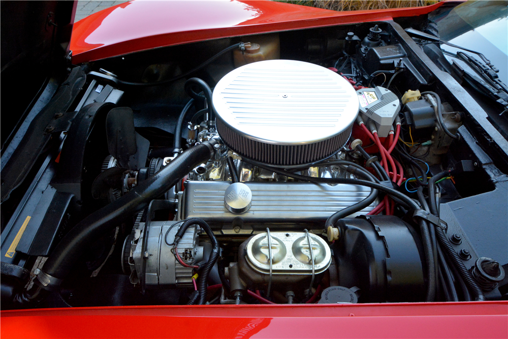 1973 CHEVROLET CORVETTE CONVERTIBLE - Engine - 189831