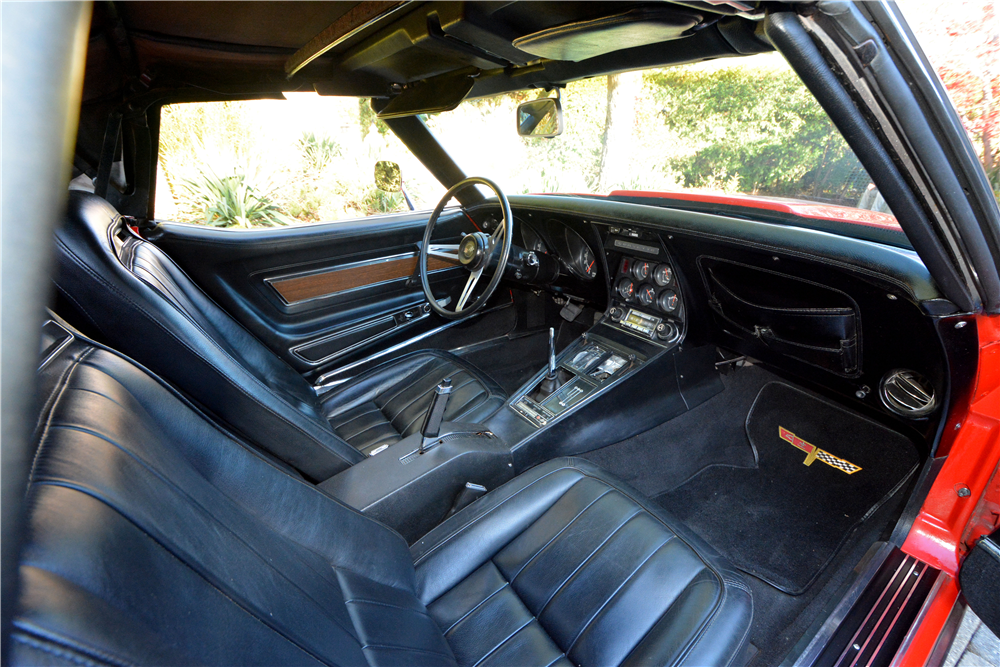 1973 CHEVROLET CORVETTE CONVERTIBLE - Interior - 189831