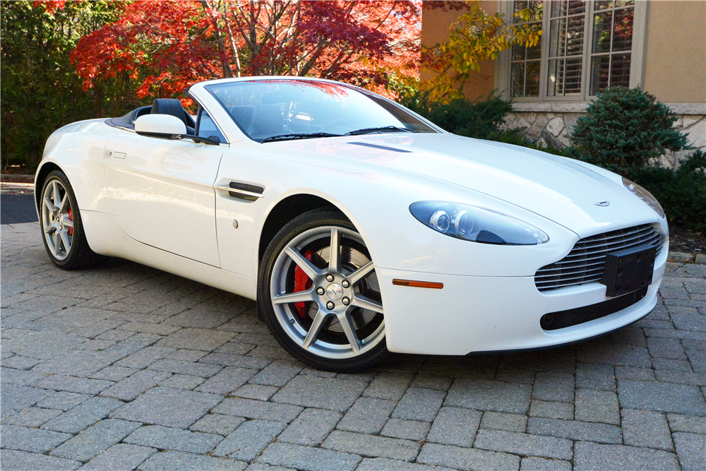 2008 aston martin vantage convertible 189832. Black Bedroom Furniture Sets. Home Design Ideas