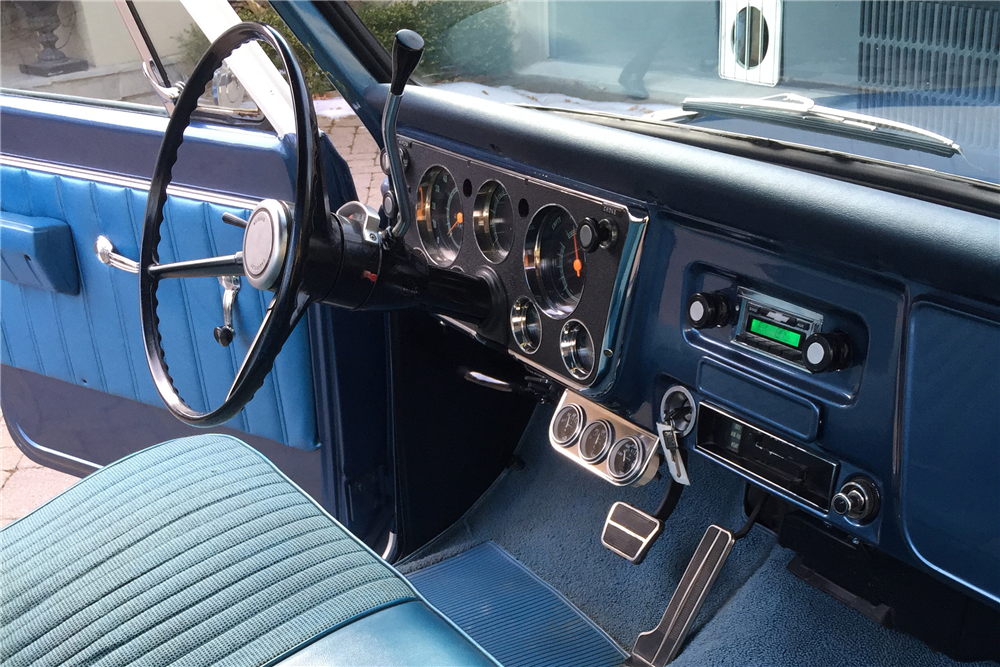 Interior Web on 1968 chevy c10 pickup truck