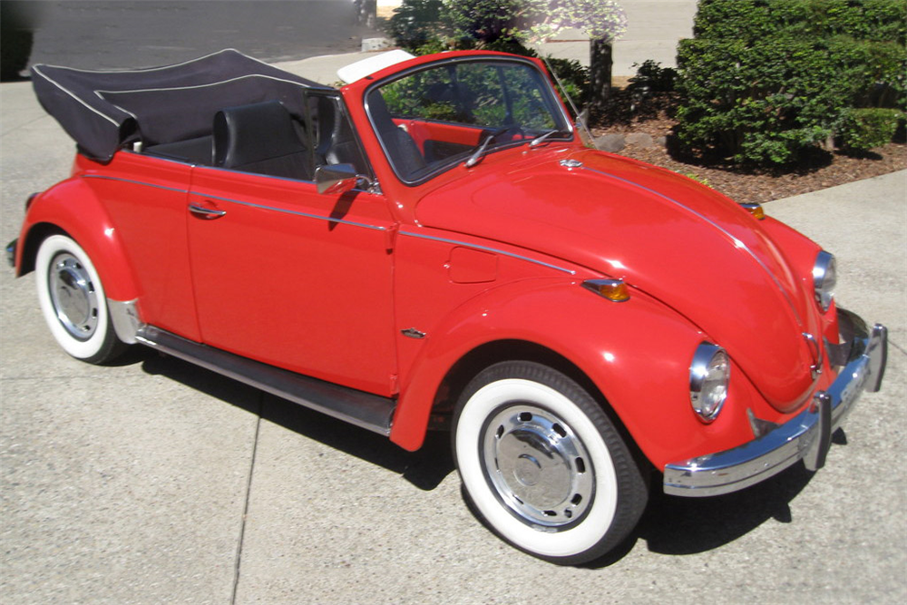 1968 volkswagen beetle convertible 189837. Black Bedroom Furniture Sets. Home Design Ideas