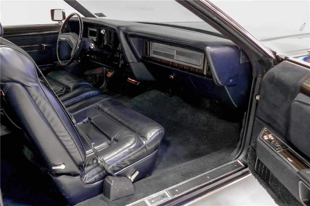 1979 LINCOLN CONTINENTAL MARK V HARDTOP COLLECTORS EDITION - Interior - 189845
