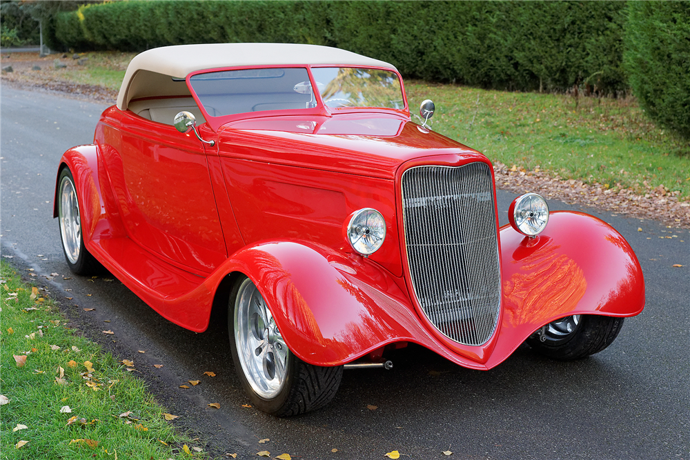 1933 FORD 2-DOOR ROADSTER - Side Profile - 189846