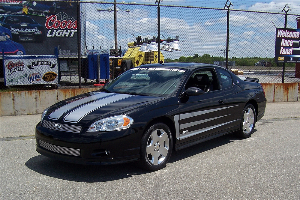 2007 chevrolet monte carlo ss dale earnhardt edition 189847. Black Bedroom Furniture Sets. Home Design Ideas