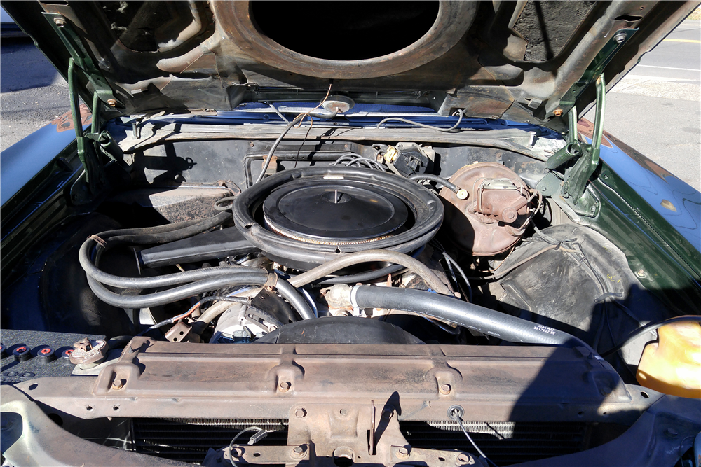 1970 CHEVROLET CHEVELLE LS6 CONVERTIBLE - Engine - 189853