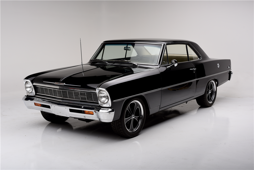 1966 CHEVROLET NOVA CUSTOM COUPE - Front 3/4 - 189855
