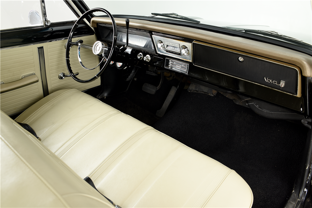 1966 CHEVROLET NOVA CUSTOM COUPE - Interior - 189855