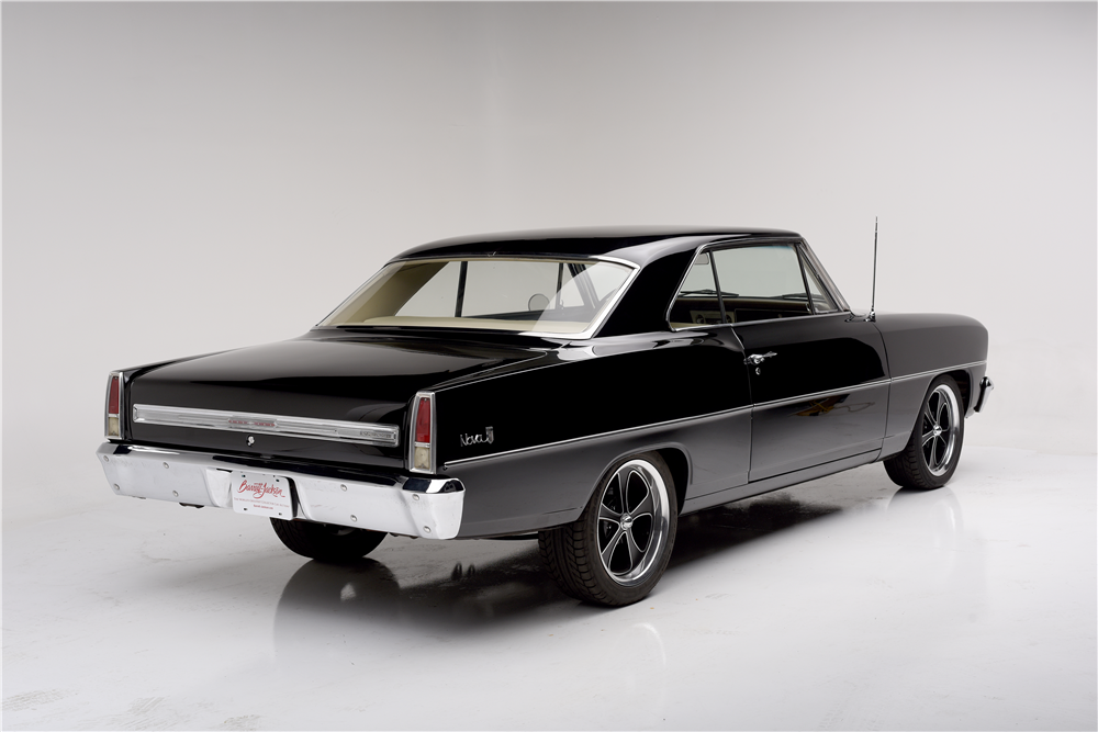 1966 CHEVROLET NOVA CUSTOM COUPE - Rear 3/4 - 189855