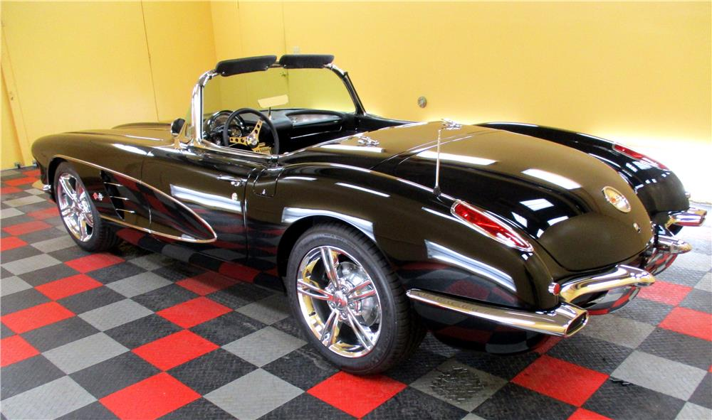 2018 Corvette Grand Sport >> 1960 CHEVROLET CORVETTE CUSTOM CONVERTIBLE - 189860