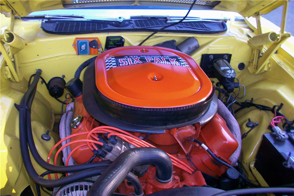 1971 DODGE CHALLENGER R/T - Engine - 189879