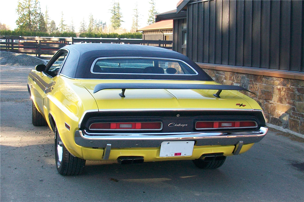 1971 DODGE CHALLENGER R/T - Rear 3/4 - 189879