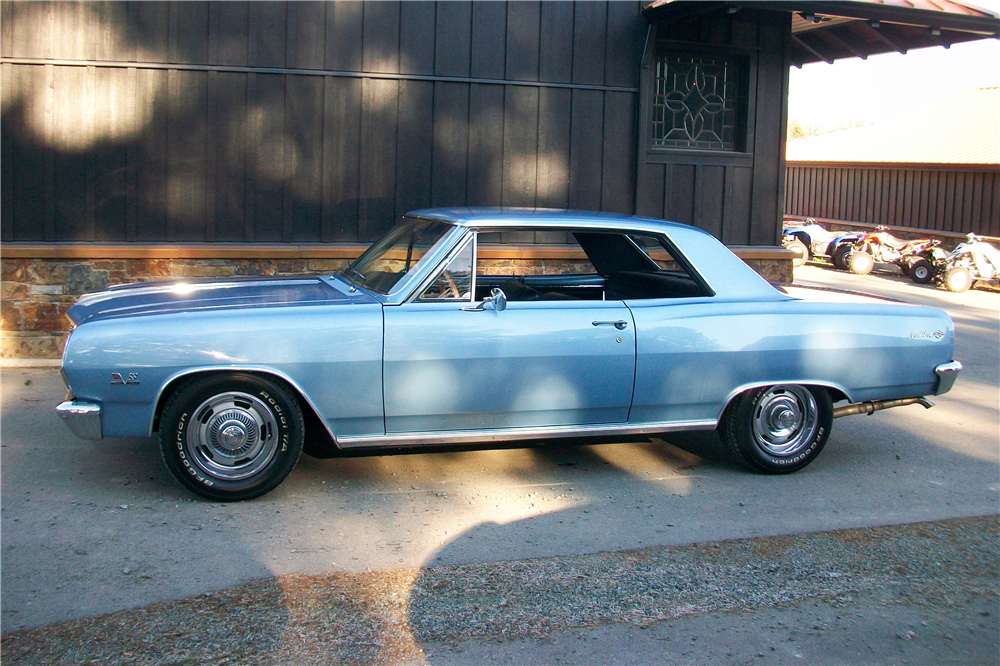 1965 CHEVROLET CHEVELLE SS  - Side Profile - 189886
