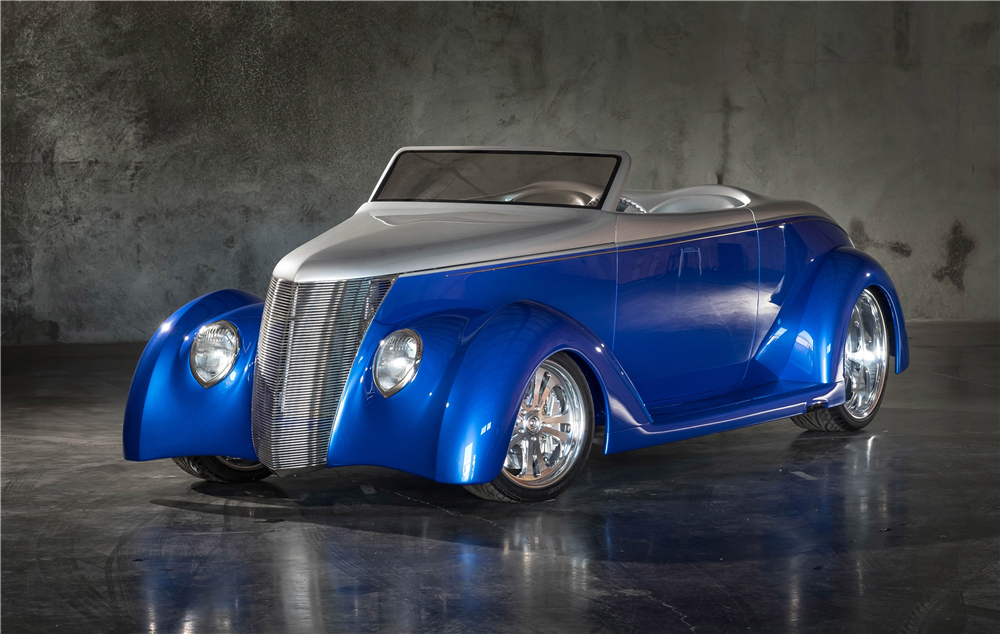 1937 FORD CUSTOM ROADSTER - Front 3/4 - 189902