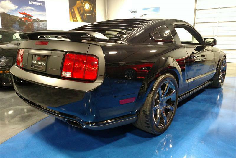 2009 SALEEN MUSTANG DARK HORSE  - Rear 3/4 - 189912