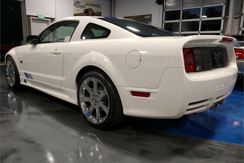 2008 SALEEN MUSTANG SC281 EXTREME  - Rear 3/4 - 189914