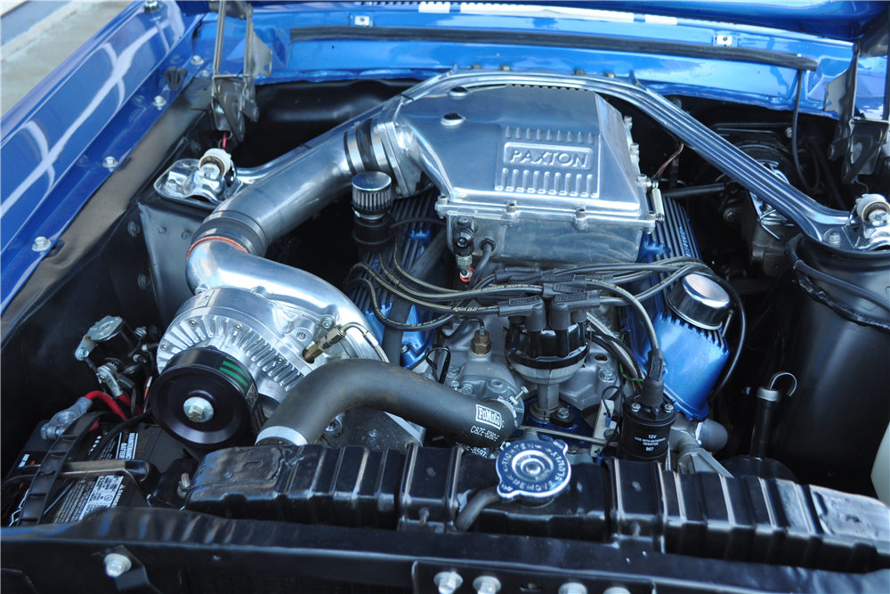 1968 FORD MUSTANG CUSTOM CONVERTIBLE - Engine - 189921