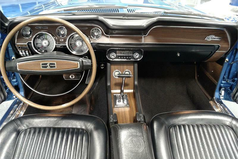 1968 FORD SHELBY GT500 CONVERTIBLE - Interior - 189922