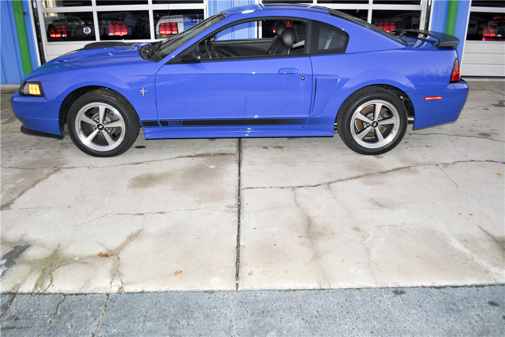 2003 FORD MUSTANG MACH 1  - Side Profile - 189936