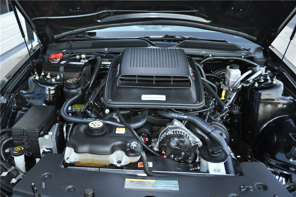 2009 SALEEN MUSTANG DARK HORSE ROADSTER - Engine - 189938