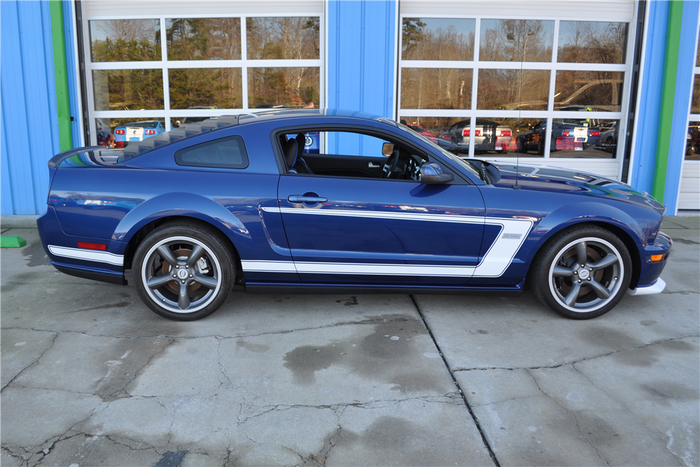 2008 SALEEN MUSTANG S302 DAN GURNEY EDITION - Side Profile - 189941