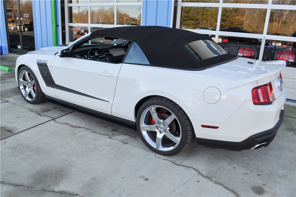 2011 ROUSH MUSTANG 5XR CONVERTIBLE - Rear 3/4 - 189943
