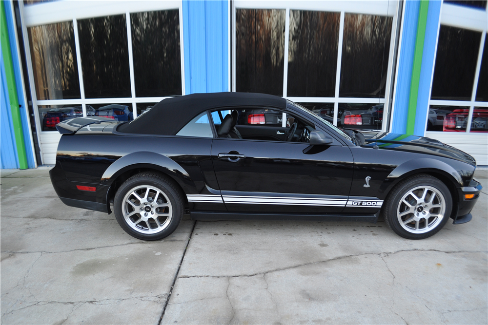 2007 SHELBY GT500 CONVERTIBLE - Side Profile - 189951