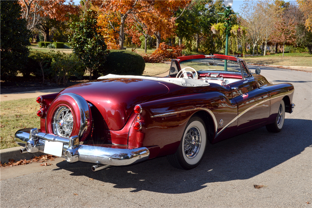 1953 BUICK SKYLARK CONVERTIBLE - Rear 3/4 - 189960