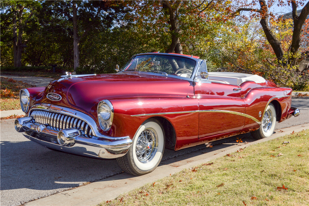 1953 BUICK SKYLARK CONVERTIBLE - Side Profile - 189960