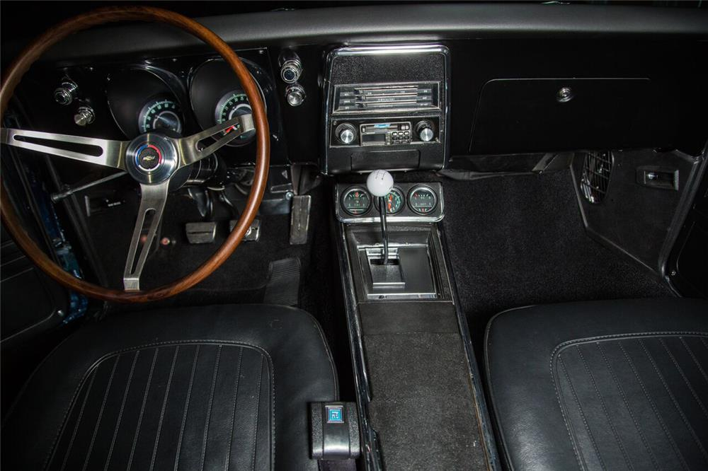 1967 CHEVROLET CAMARO SS CUSTOM COUPE - Interior - 189973