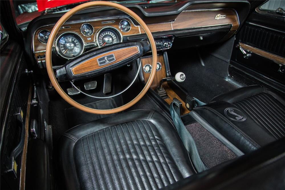 1968 SHELBY GT350 CONVERTIBLE - Interior - 189975
