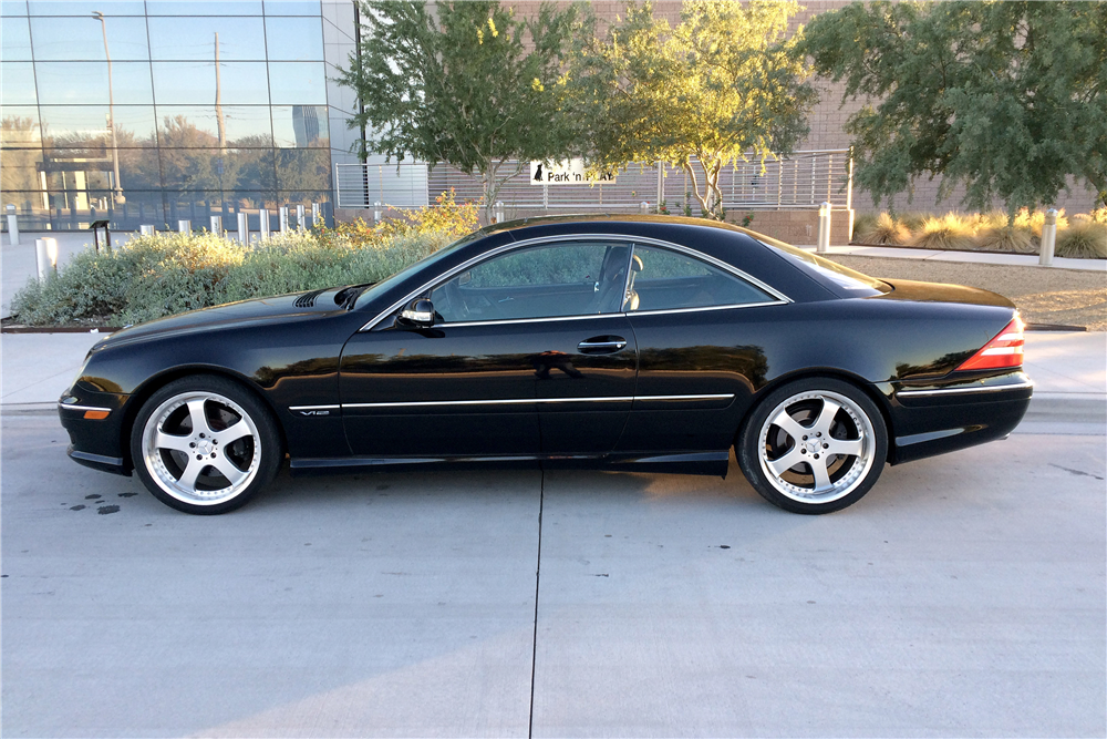 2001 mercedes benz cl600 189977