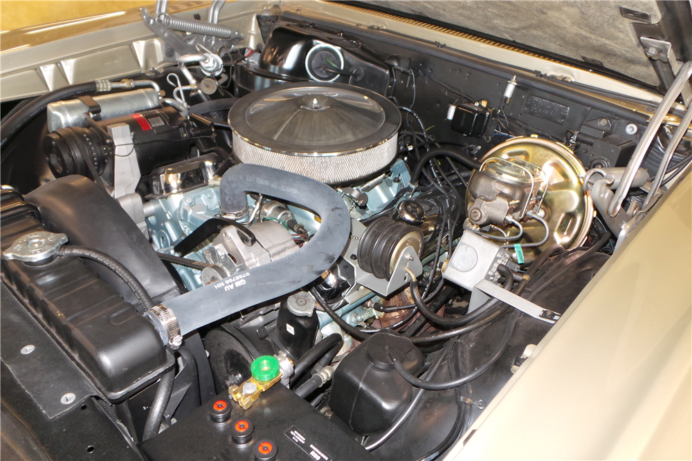 1967 PONTIAC GTO  - Engine - 189986