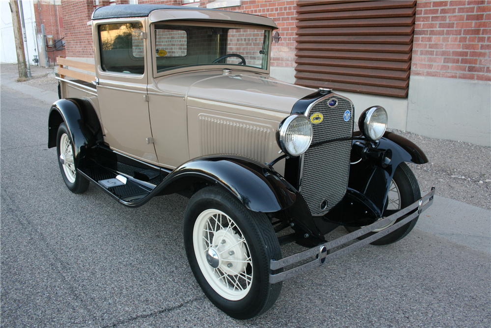 1930 FORD MODEL A PICKUP - Front 3/4 - 189992