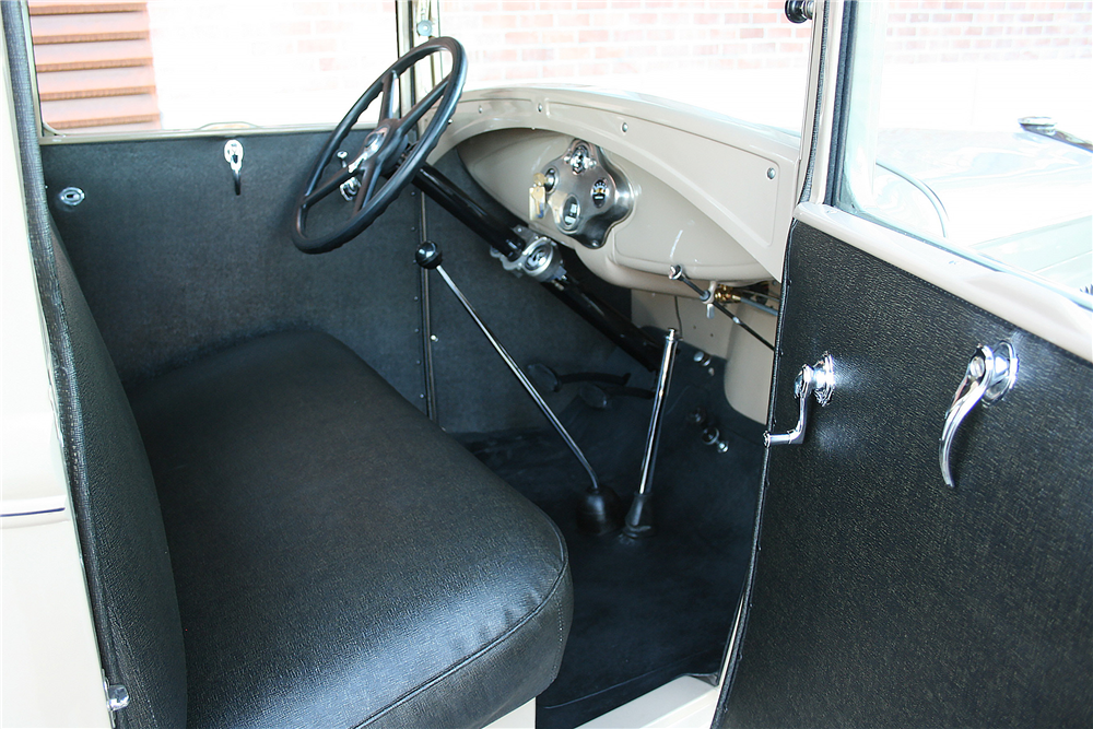 1930 FORD MODEL A PICKUP - Interior - 189992